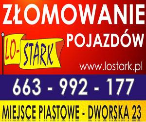 LO-STARK - złomowanie pojazdów - Miejsce Piastowe