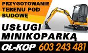 OL-KOP - usługi minikoparką